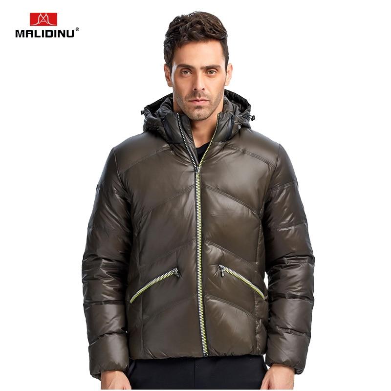 e5699de67 MALIDINU 2019 New Men Down Jacket Winter Jacket Men Thick Warm Down ...