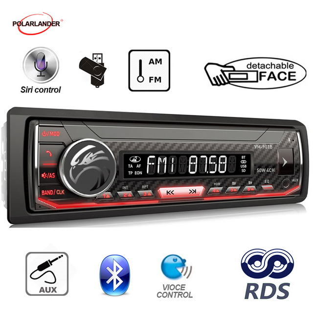 Image 4 - Bluetooth 1 din Support Android 7.0 or Above Car Multimedia Player Autoradio  AM / FM / RDS Radio For Iphone Siri car radio-in Car MP3 Players from Automobiles & Motorcycles