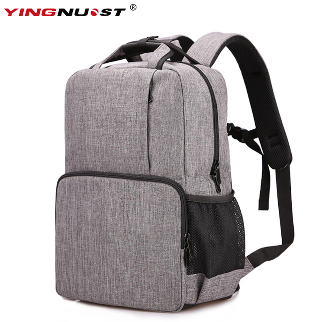 5602c2ef01fa Waterproof Digital DSLR Photo Padded Camera Backpack Multi-functional Camera  Bag For Outdoor Traveling Hiking For Canon Nikon