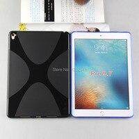 New Anti - patinage Matte X ligne Soft Wave Silicone caoutchouc TPU Gel housse de protection pour Apple iPad Pro Air3 Air 3 9.7 polegada Tablet