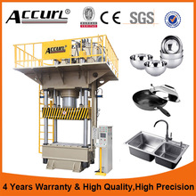 Four Column Compression Moulding Press 200Ton