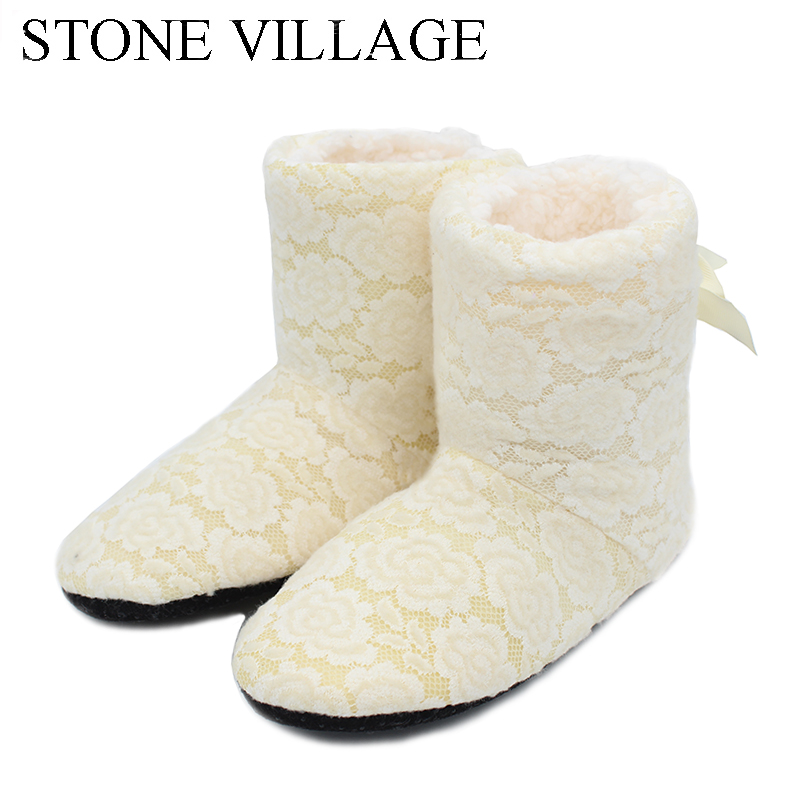 Winter Cotton Slippers High Quality Openwork Lace Women Home slippers Soft-Soled Slippers Women Shoes Indoor Women Slippers ST88 american rustic loft style vintage industrial wall light lamp retro water pipe lamp edison wall sconce