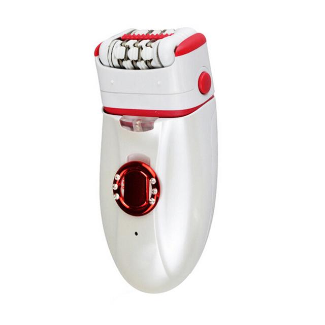 Chegada nova Recarregável Removedor de Pé Mulheres Depilador Electric Lady Shaver Depilação Das Axilas Pernas Cuidados Pessoais