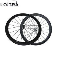 Колеса велосипеда углерода 50 мм довод катки R36 прямые тянуть колеса Столп PSR AERO 1432 говорил Базальт тормозной поверхности