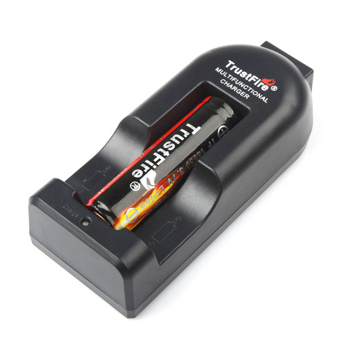 TrustFire TR-002 Single Channel Multifunctional Battery Charger + 18650 3.7V 2400mAh Rechargeable Protected