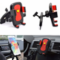 Universal 360 Degree Rotating Car CD Dash Slot Mobile Phone Holder Mount For Xiaomi redmi note3 redmi3 note 2 huawei Phone Stan