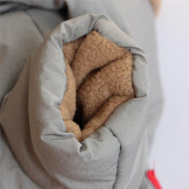 Зимний флисовый комбинезон для собак, лыжная одежда, куртка с хлопковой подкладкой для собак и кошек, пальто, одежда для домашних животных, теплая одежда для собак и щенков, комбинезон с капюшоном-4