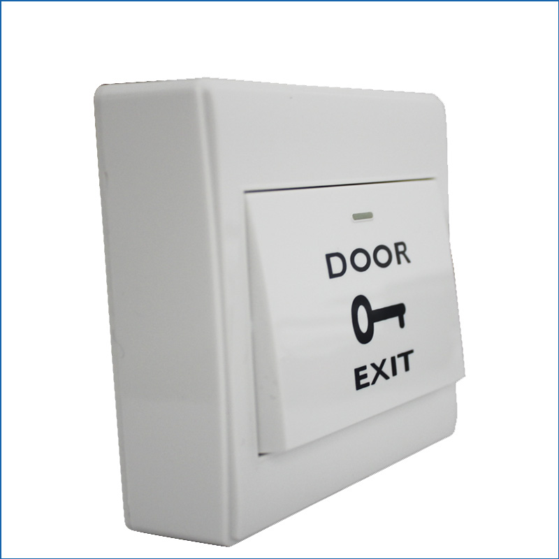 COM NO Door Lock Gate Opener Release Exit Button Switch For Door Access Control