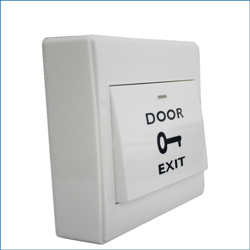 COM NO Door Lock Gate Opener Release Exit Button Switch For Door Access Control