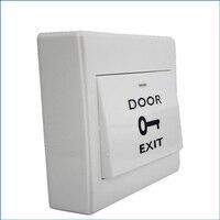 Com nenhum interruptor de botão de saída da liberação do abridor da porta do fechamento da porta para o controle de acesso da porta