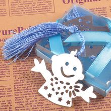 (25 pieces/lot) Christening & Baptism Gifts Baby Boy Baby Girl Bookmark For Baby Shower Birthday Children's Day Souvenirs BK025B