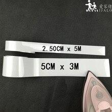 Легко DIY 5 см/2,50 см яркий серебристый класс теплопередачи светоотражающий материал для железа на одежду сумки обувь