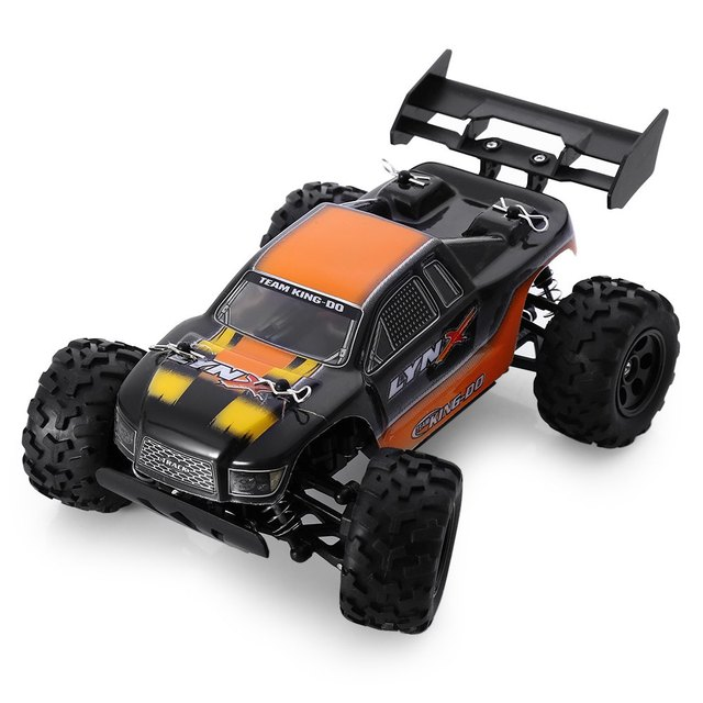 KD-Саммит S600 Мини Большая Нога 2.4 Г 1/24 RC Truggy РТР Автомобиль Модели Игрушка Вождения Автомобиля Двойной Диск Двигателей игрушка