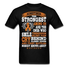 Brand 2017 New T Shirt Cotton  Short Crew Neck Mens Hipst S Boutique Multiple Sclerosis Strong Among Us Shirts