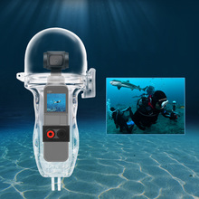 Osor جيب 60 متر مقاوم للماء تحت الماء الغوص الإسكان مع مفتاح بوتون ل DJI oomo جيب كاميرا ذات محورين
