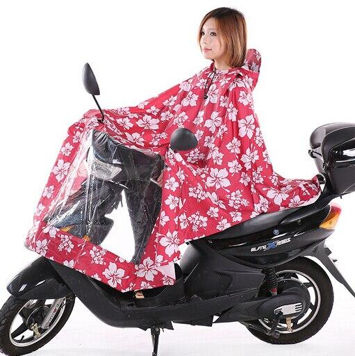 Motorcycle Rain Wear Gear Waterproof For Women Rain Cover 125 100cm