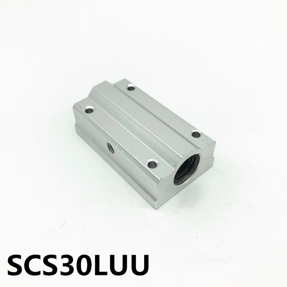 SCS30LUU SCS30LUU Bearing 30mm Linear Motion Ball Bearing Slide Block For 30mm