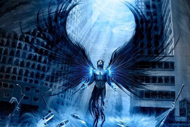 Art Appreciation Diy Frame Fantasy Art Dark Originele Kunstwerken Psychedelische Horror Donkere Vleugels Doek Zijde Art Wall Poster Aliexpress Diy Frame Fantasy Art Dark Originele Kunstwerken Psychedelische
