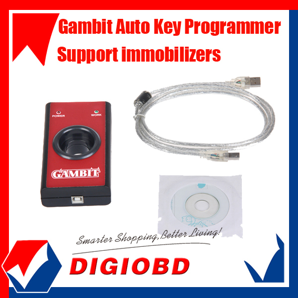 Wholesale price Gambit key programmer CAR KEY MASTER II key maker