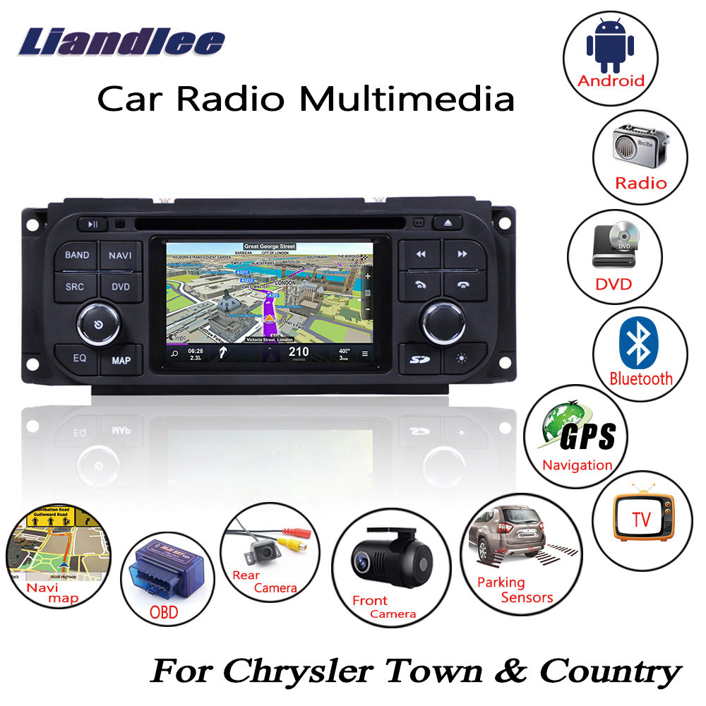 Liandlee Android Car Radio For Chrysler Town & Country