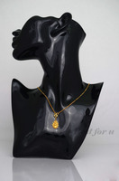 2016 New 11 Jewelry Necklace Earring Mannequin Display Stand Bust Decor Figure Mannequin Model Jewelry Holder Rack Sturdy Store