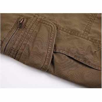 Summer Thin Casual Pants Men\'s Cotton Straight Long CARGO PANTS Plus Size 30 40 42 44 Loose Trousers Man Bottoms