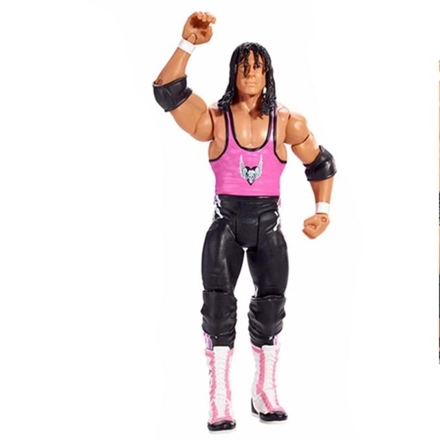 Wrestling Wrestler Bret Hart Action Figure Toy Doll Brinquedos Figurals Model Gift