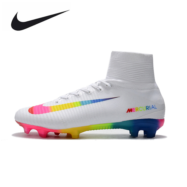 de8244e415a7 ... discount code for nike mercurial superfly v ag soccer shoes white superfly  high ankle football boots