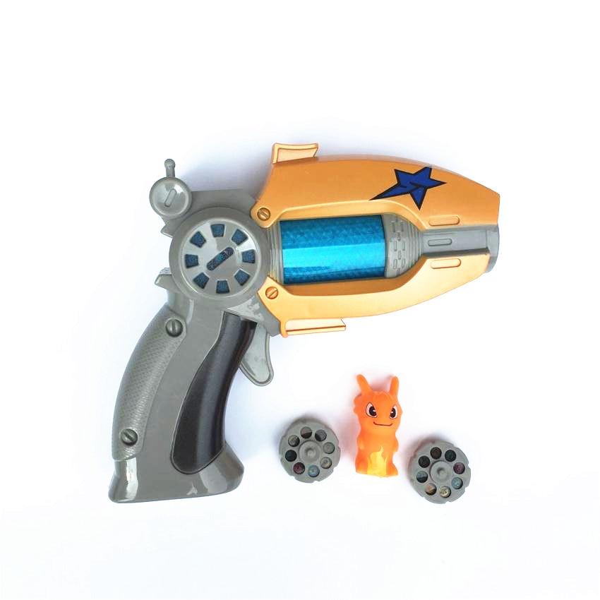 16 Projection Flash Music Children Gifts Cartoon Anime Slugterra Sounding Light Toy Gun Boy Projection Toy Pistol Gun Qumi