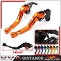Para KTM 125 200 390 DUQUE RC 125/200/390 Accesorios de La Motocicleta CNC Cortos de Embrague Del Freno Palancas Con KTM Logo