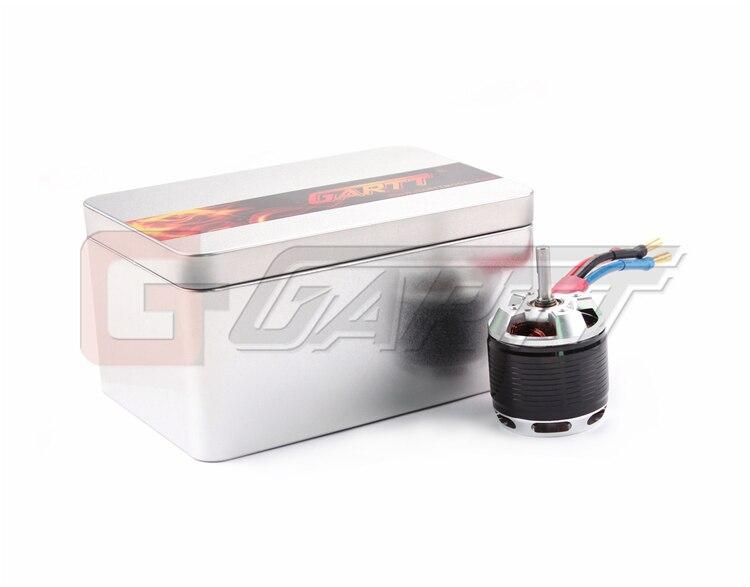 Gleagle`s HF 1600KV 1700W Brushless Motor With Steel Case For 500 Align Trex RC Heli Black gh hf 530kv 4500w brushless motor with steel case for 700 align trex rc heli black