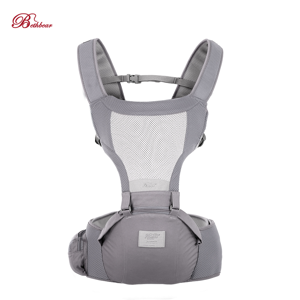 Bethbear Newborn Ergonomic Baby Carrier Waist Stool For 0-36 Months Babies 16