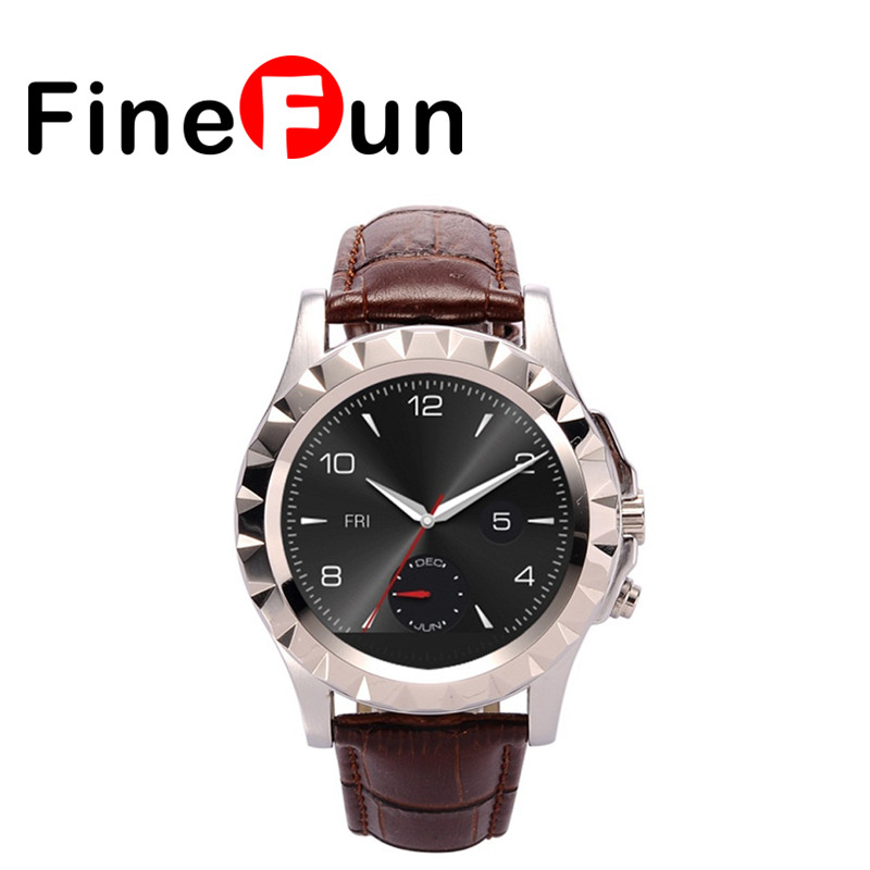 FineFun Bluetooth Smart Watch T2 Sports Wristwatch with Camera Pedometer Heart Rate Call Music Player for IOS ANDROID u80 smart watch with pedometer function