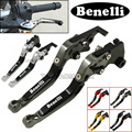 CNC Adjustable Foldable Extendable Motorbike Brakes Clutch Levers For Benelli TNT300 TNT600 BN600 BN302 Stels600 Keeway RK6/BN