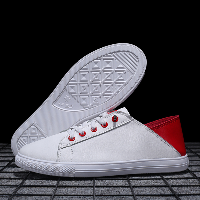 Mens Shoes Casual Sneakers Fashion Vintage Men All White Hot Sale Flat Male Walking