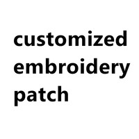 custom embroidery badge from your design picture