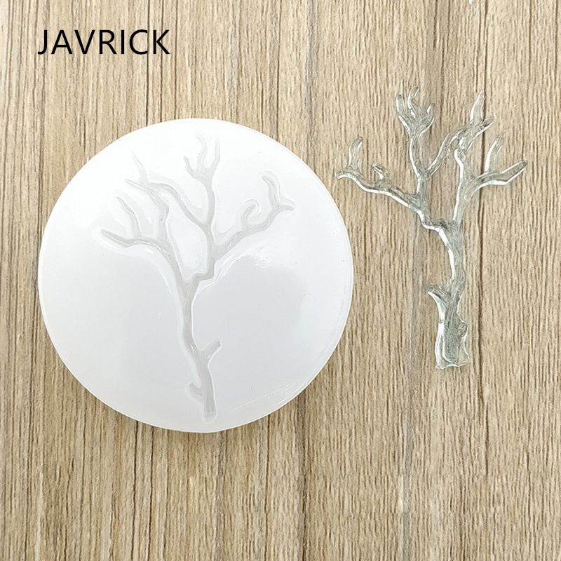 Leaves Branch Shape Epoxy Resin Casting Silicone Molds Craft Tool DIY Accessories Jewelry Making Tools