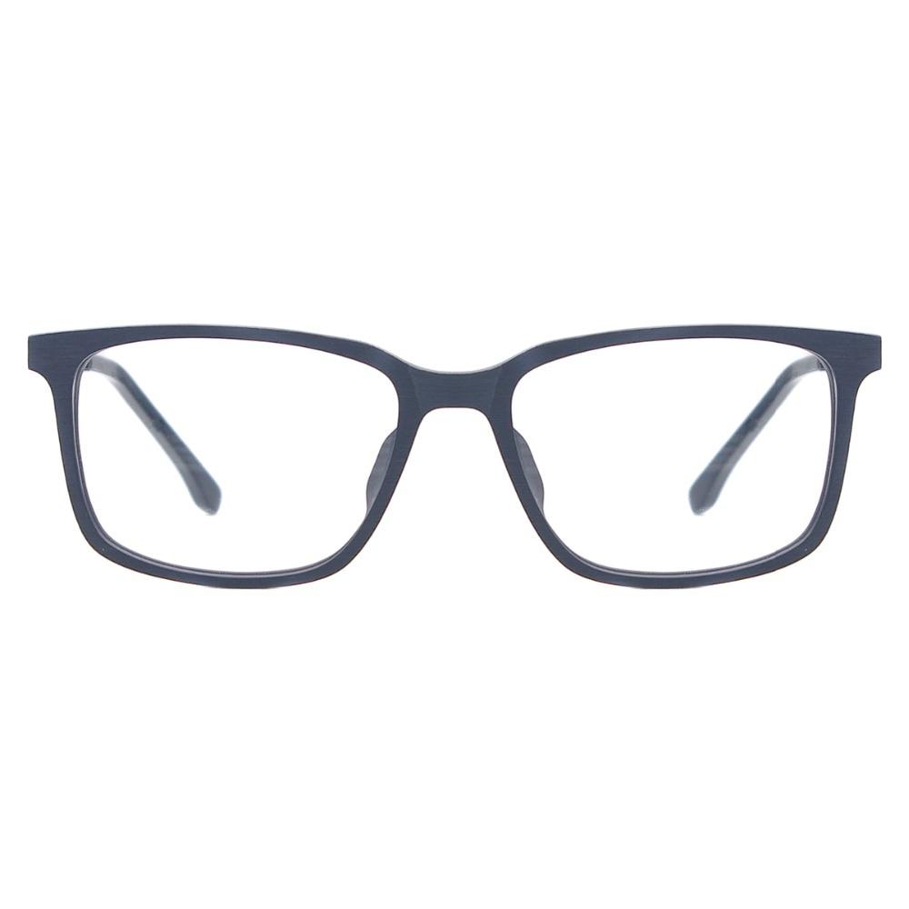 TendaGlasses Homens Quadrado Textura De Madeira Retangular Óculos de Acetato  de Armações de Óculos de Prescrição Para Miopia   Lentes Presbiopia em  Armações ... 8c90440a61
