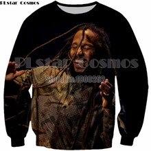 PLstar Cosmos New Fashion Hip hop 3D Print Bob Marley  Man Women Top Sweatshirt new style hoodies tops Plus size S-5XL drop ship