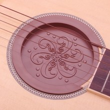 40''41'' Acoustic Guitar Buster Sound Hole Cover 10cm Flexible Rubber Block Stop Plug Screeching Halt for EQ Acoustic Guitar sex acoustic cover
