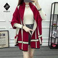 2016 Brand name scarf Geometric fringe imitation cashmere scarf couple Double side air conditioning winter warm shawl A115
