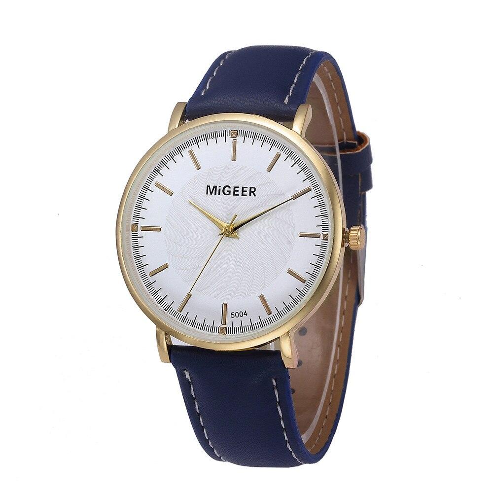 Stylish And Simple Temperament Belt Watch men's watches analog quartz male watches luxury  Masculino wach