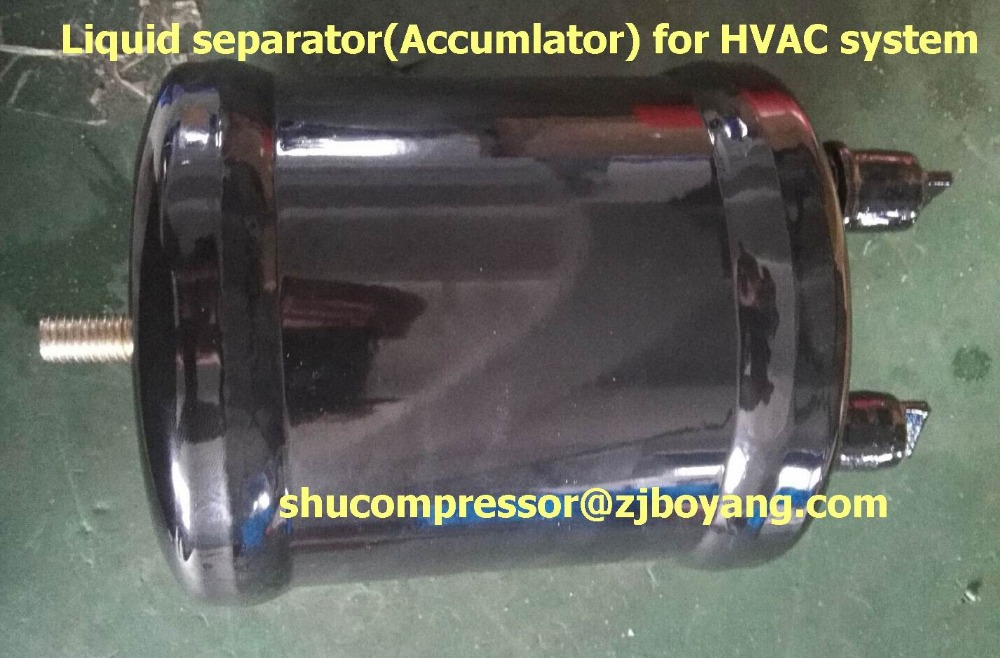 HVAC Accumulator (Liquid separator) for  R404A R134A R410a Cooling refrigeration system high quality one way check valves for r404a r134a r22 for lbp mbp cooling refrigeration system