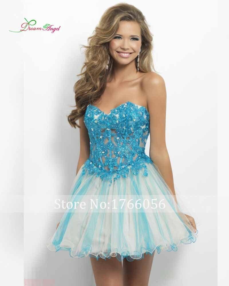 Online Get Cheap Light Blue Cocktail Dresses -Aliexpress.com ...