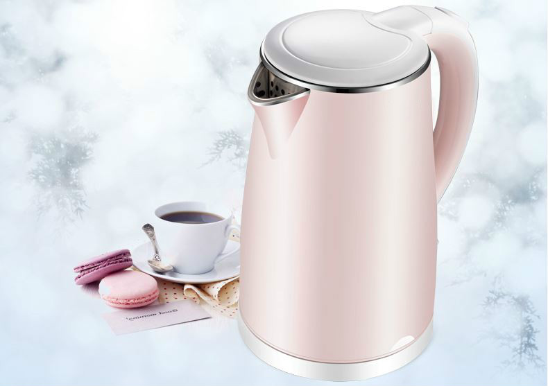 Electric heating kettle household 304 stainless steel automatic power quick pot Safety Auto-Off Function electric heating kettle household 304 stainless steel fast automatic power safety auto off function
