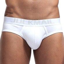 JOCKMAIL ใหม่ยี่ห้อผู้ชายชุดชั้นใน 4 ชิ้น/ล็อตเซ็กซี่กางเกงในผ้าฝ้าย Breathable Cueca กางเกงในชายกางเกงในกางเกงเกย์