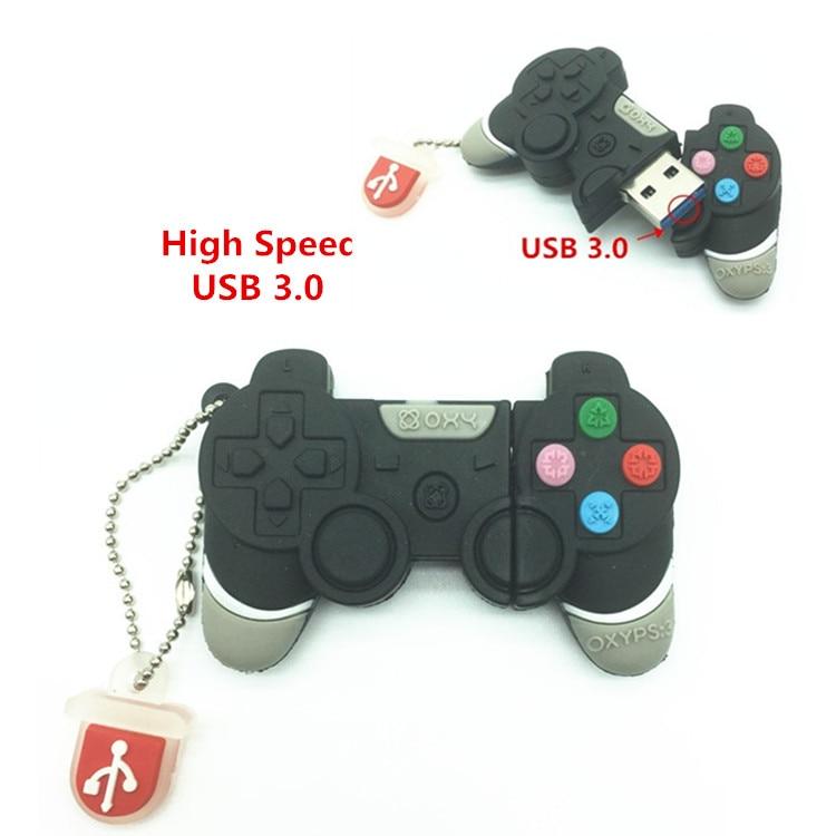 Game Controllers USB 3.0 Flash Drive 64GB Pen Drive 32GB Pendrive 16GB 8GB 4GB New PSP Console Flash Card Cartoon Memory Stisk