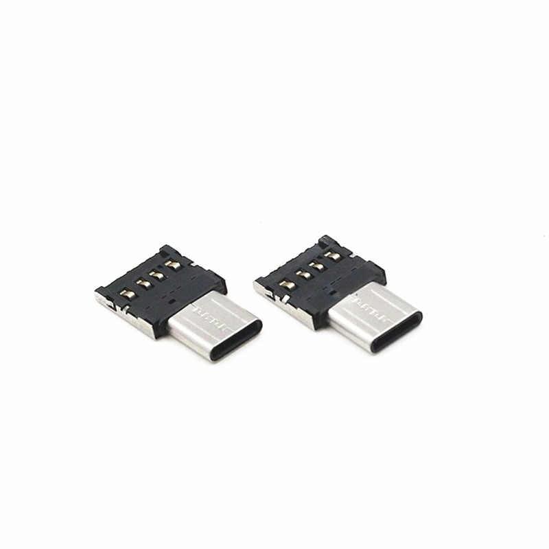 Мини Micro V8 адаптер Micro Android USB 2,0 кабель-адаптер On-The-Go для Xiaomi huawei ZTE LG U диск клавиатура Мышь металлический адаптер