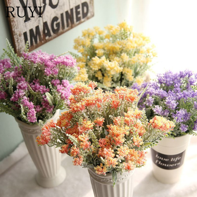 High quality artificial milan ball flower small fresh grass high quality artificial milan ball flower small fresh grass simulation flower garden home decoration wedding artificial mightylinksfo Image collections