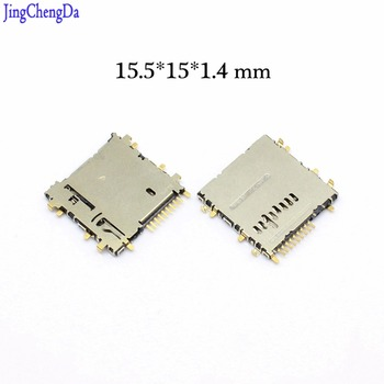 JCD New for samsung Tab 3 8.0 T310 T311 P5200 T210 T211 T310 T315 T111 Sim Card Reader Holder Socket Slot SD TF card image